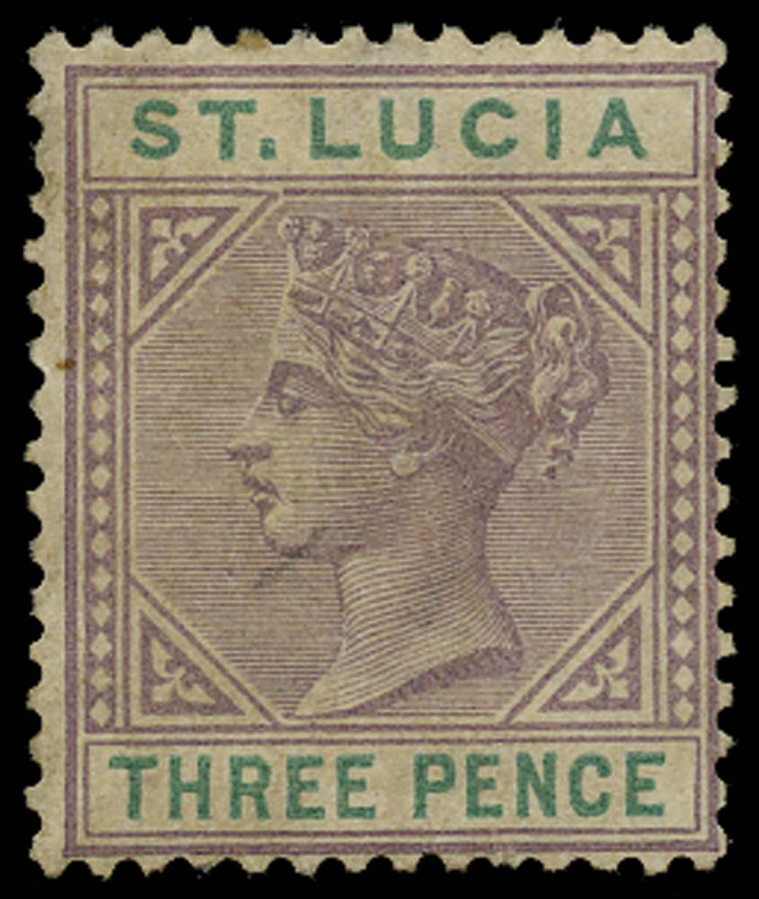 ST LUCIA 1886  SG40a Mint