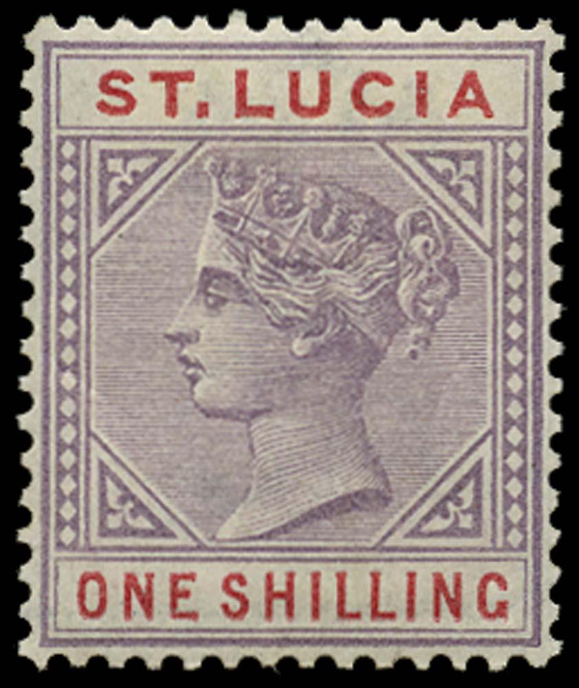 ST LUCIA 1886  SG42 Mint