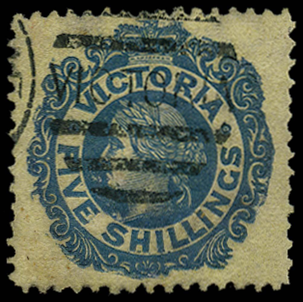 VICTORIA (AUS) 1867  SG139a Used