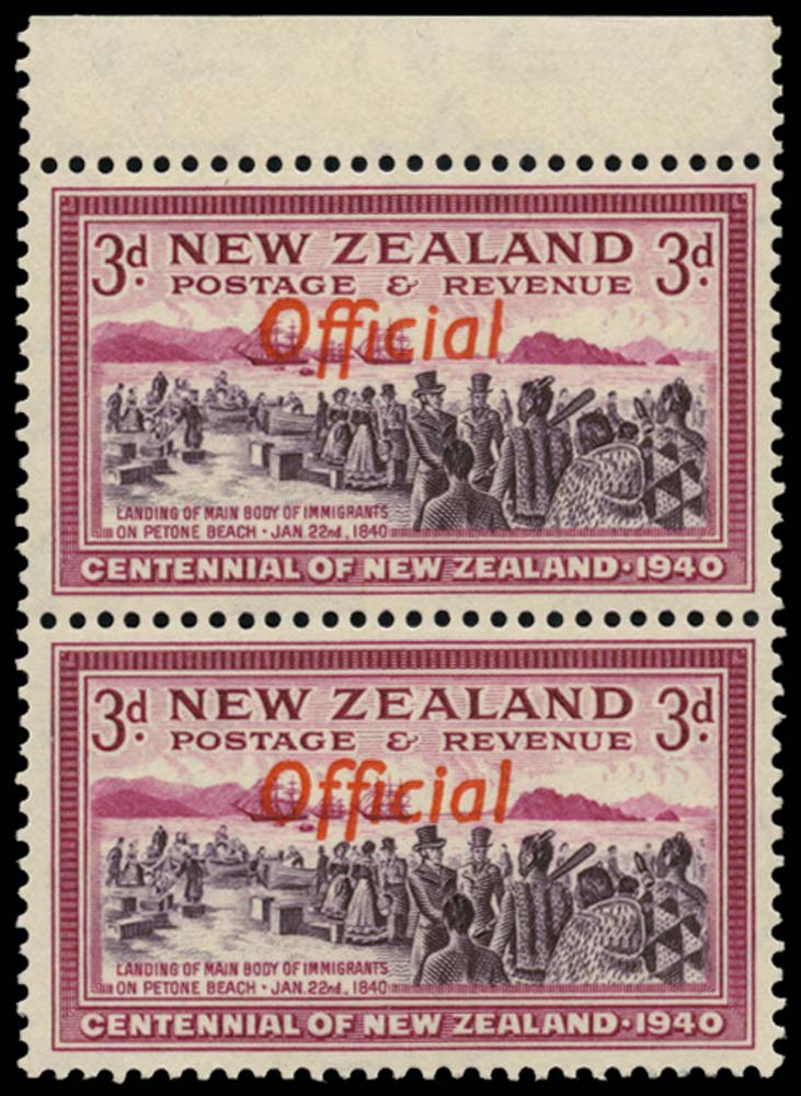 NEW ZEALAND 1940  SGO146/a Official