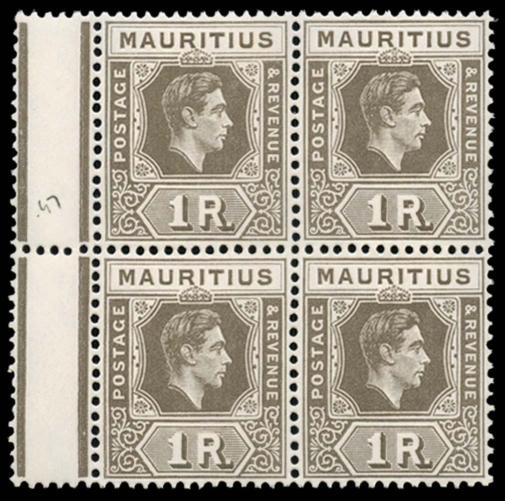 MAURITIUS 1947  SG260 Mint