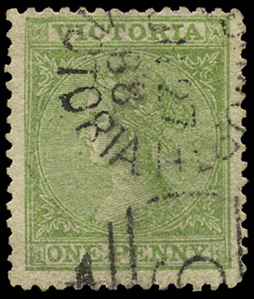 VICTORIA (AUS) 1867  SG154 Used