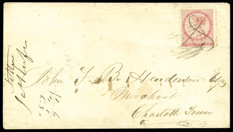 PRINCE EDWARD ISLAND 1863(c)  SG22 Cover
