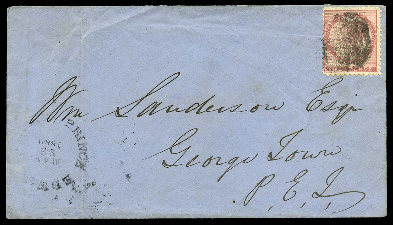 PRINCE EDWARD ISLAND 1869  SG6a Cover