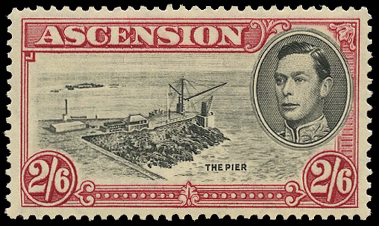 ASCENSION 1938  SG45 Mint