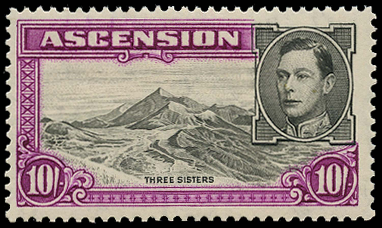 ASCENSION 1938  SG47 Mint