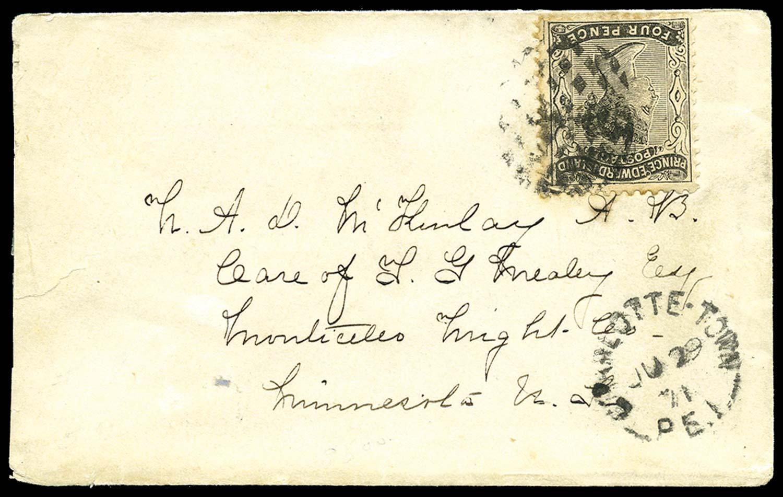 PRINCE EDWARD ISLAND 1871  SG16 Cover