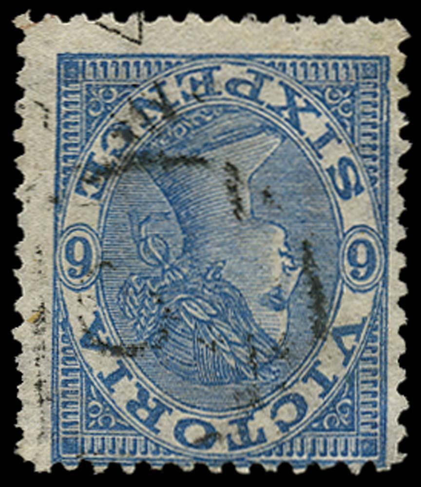VICTORIA (AUS) 1867  SG164var Used