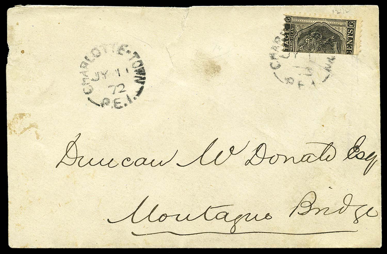 PRINCE EDWARD ISLAND 1872  SG41a Cover