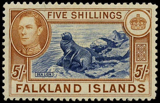 FALKLAND ISLANDS 1938  SG161b Mint