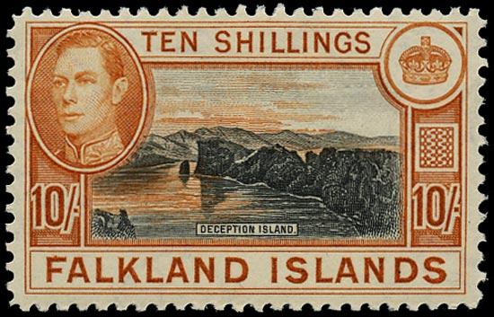 FALKLAND ISLANDS 1938  SG162a Mint