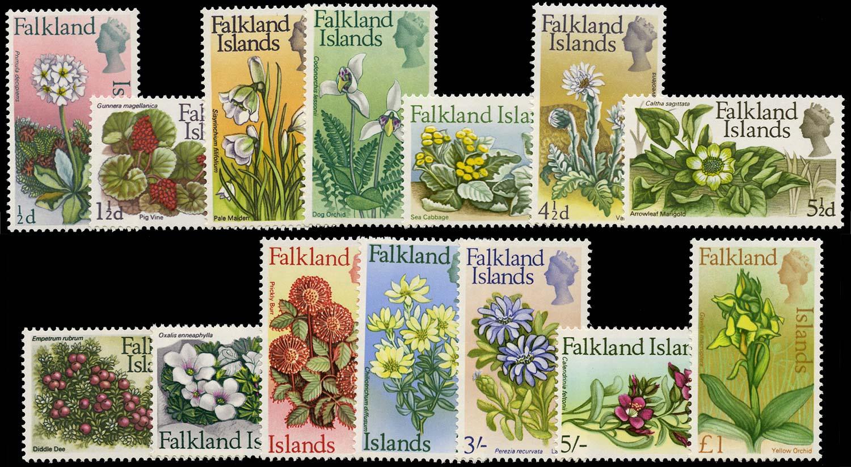 FALKLAND ISLANDS 1968  SG232/45 Mint