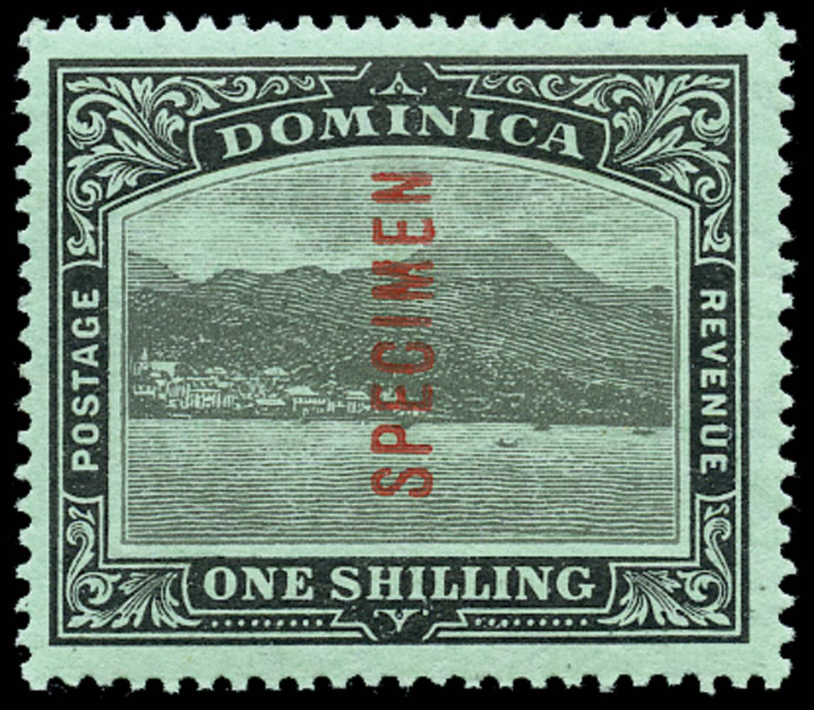 DOMINICA 1908  SG53as Specimen