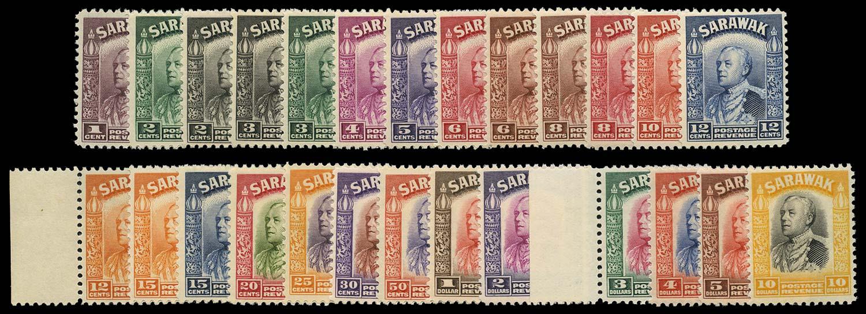 SARAWAK 1934-41  SG106/25 Mint