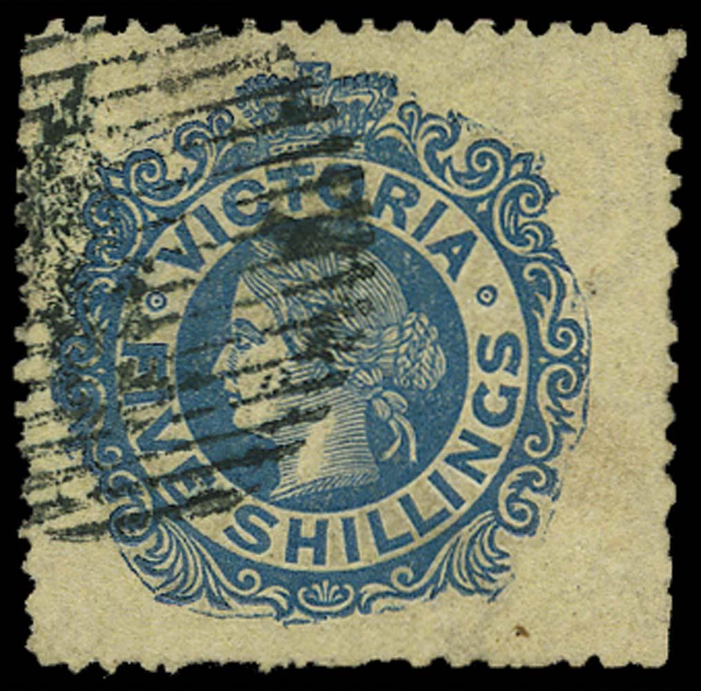 VICTORIA (AUS) 1867  SG139 Used