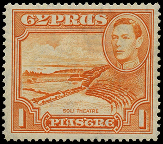 CYPRUS 1938  SG154a Mint