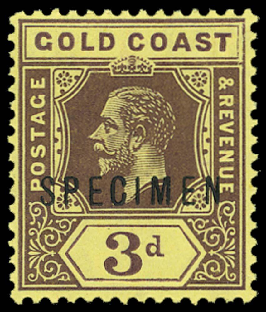 GOLD COAST 1913  SG77as Specimen