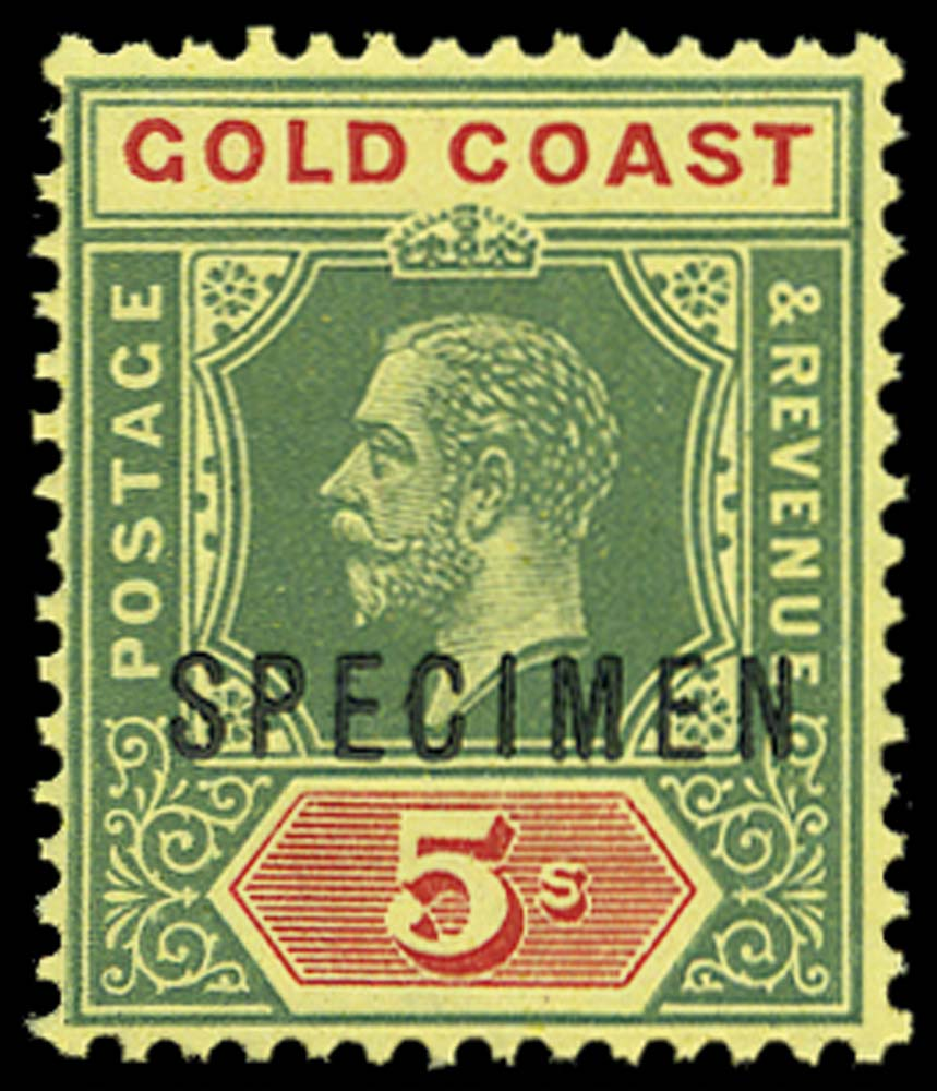 GOLD COAST 1913  SG82as Specimen