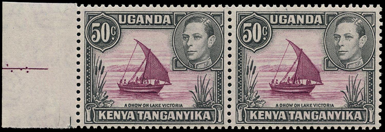 KUT 1950  SG144eb Mint