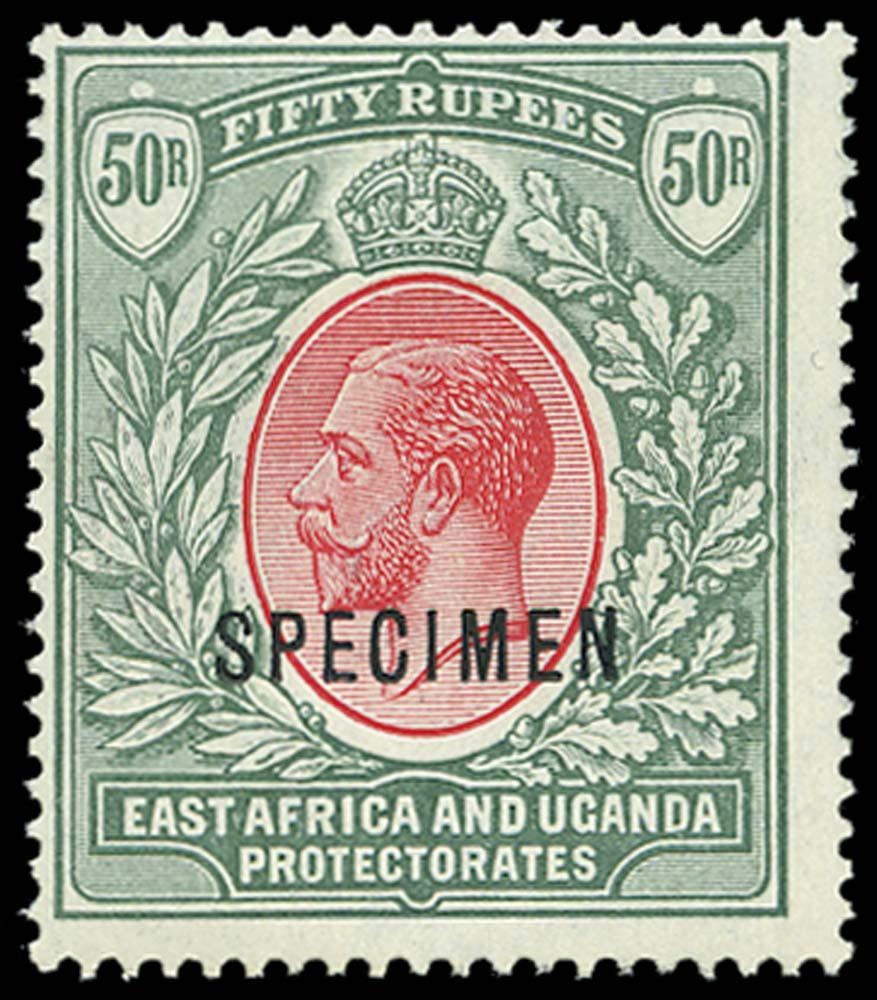 KUT 1912  SG61s Specimen