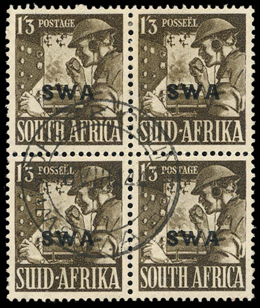 SOUTH WEST AFRICA 1941  SG120 Used