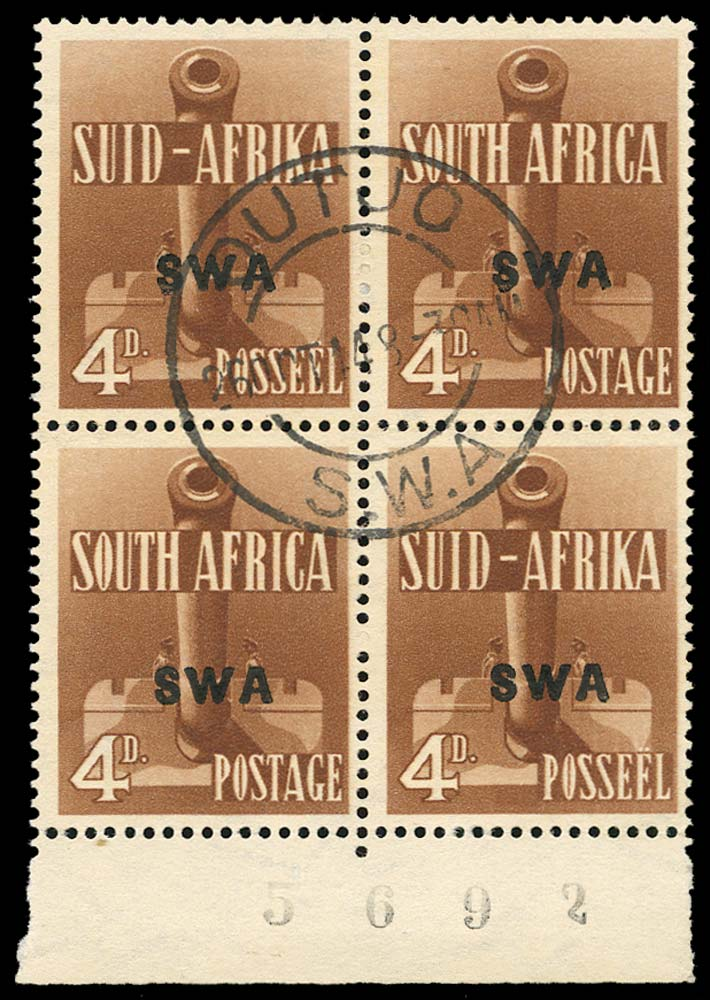 SOUTH WEST AFRICA 1941  SG118a Used