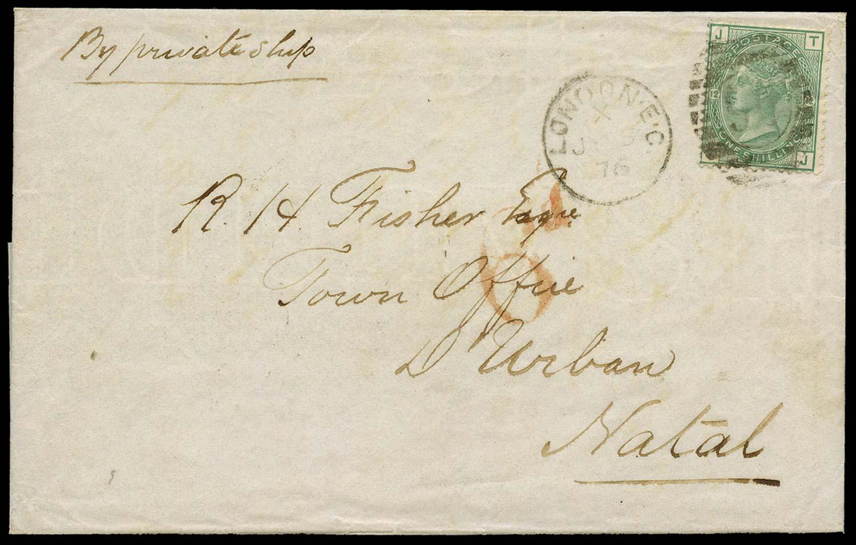 GB 1876  SG150 Pl.12 Cover