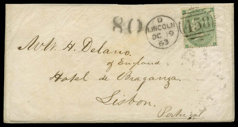 GB 1863  SG90 Pl.2 Cover