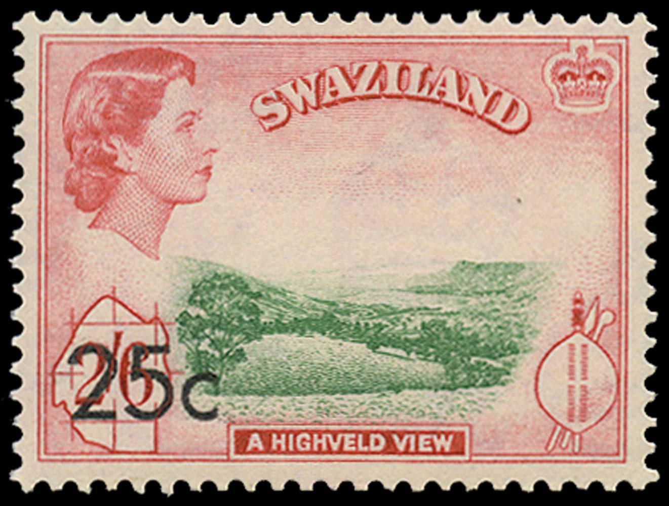 SWAZILAND 1961  SG74b Mint