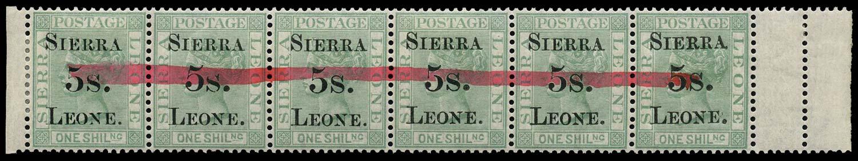 SIERRA LEONE 1884 Postal Fiscal