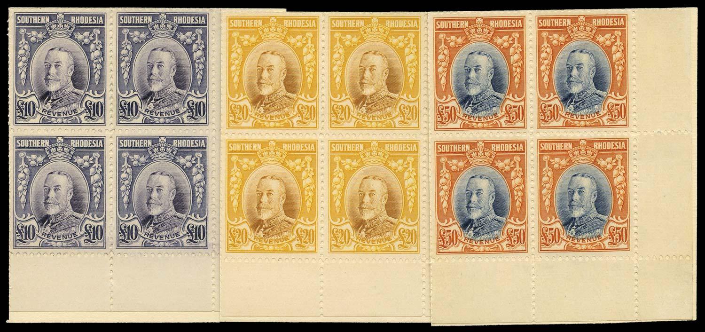 SOUTHERN RHODESIA 1931 Revenue