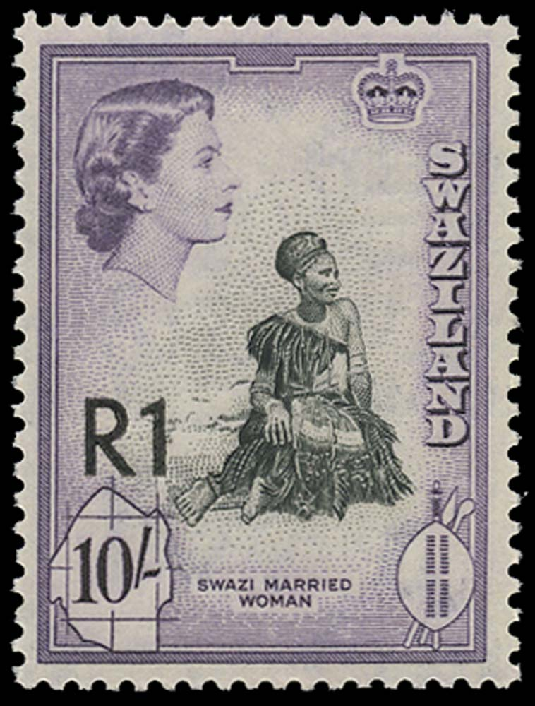 SWAZILAND 1961  SG76b Mint