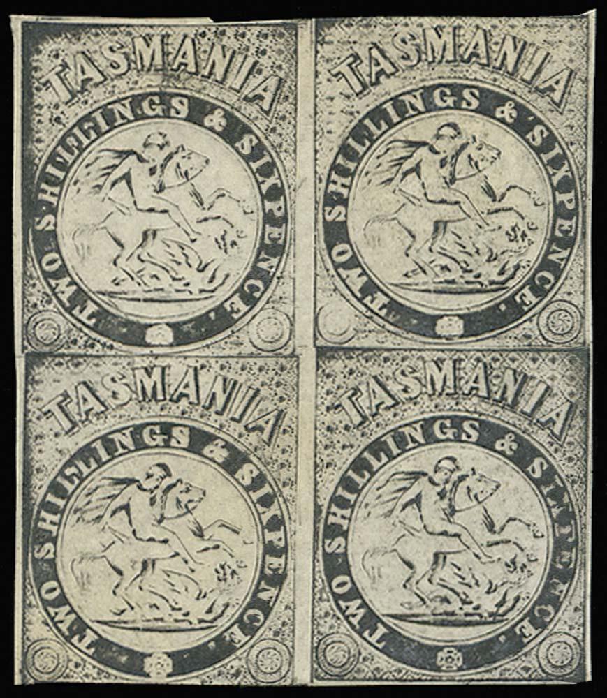 TASMANIA 1887  SGF30 Proof
