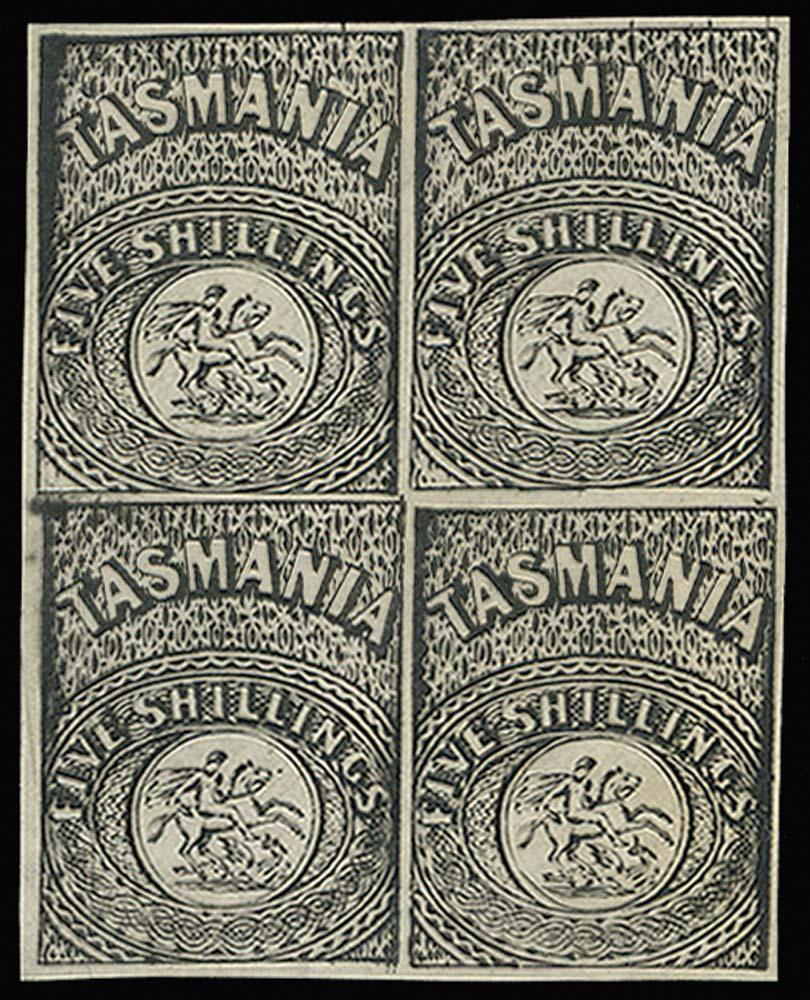 TASMANIA 1887  SGF4 Proof