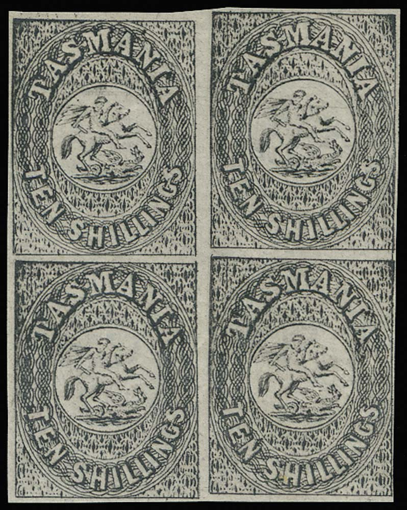 TASMANIA 1887  SGF6 Proof