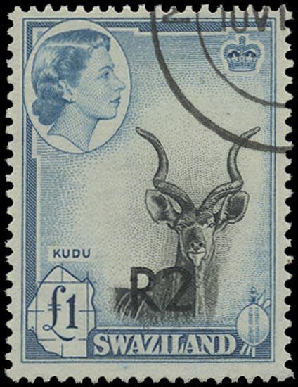 SWAZILAND 1961  SG77b Used