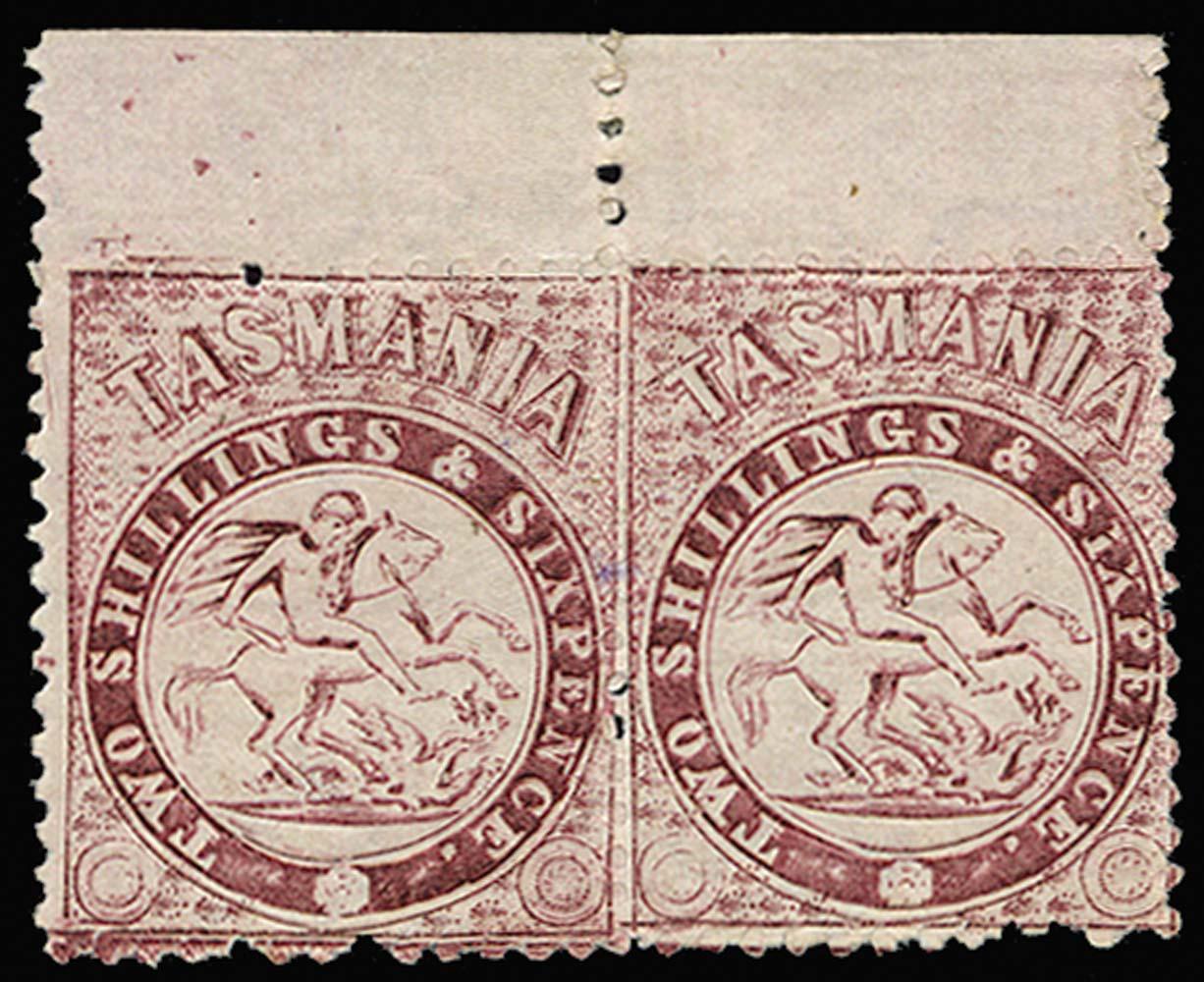 TASMANIA 1888  SGF30 Postal Fiscal