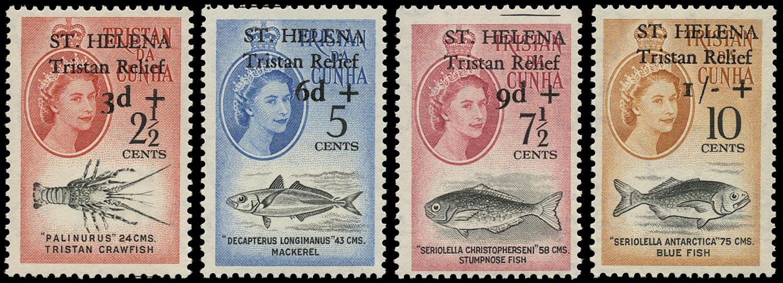 ST HELENA 1961  SG172/5 Mint