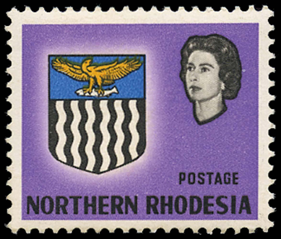 NORTHERN RHODESIA 1963  SG75a Mint