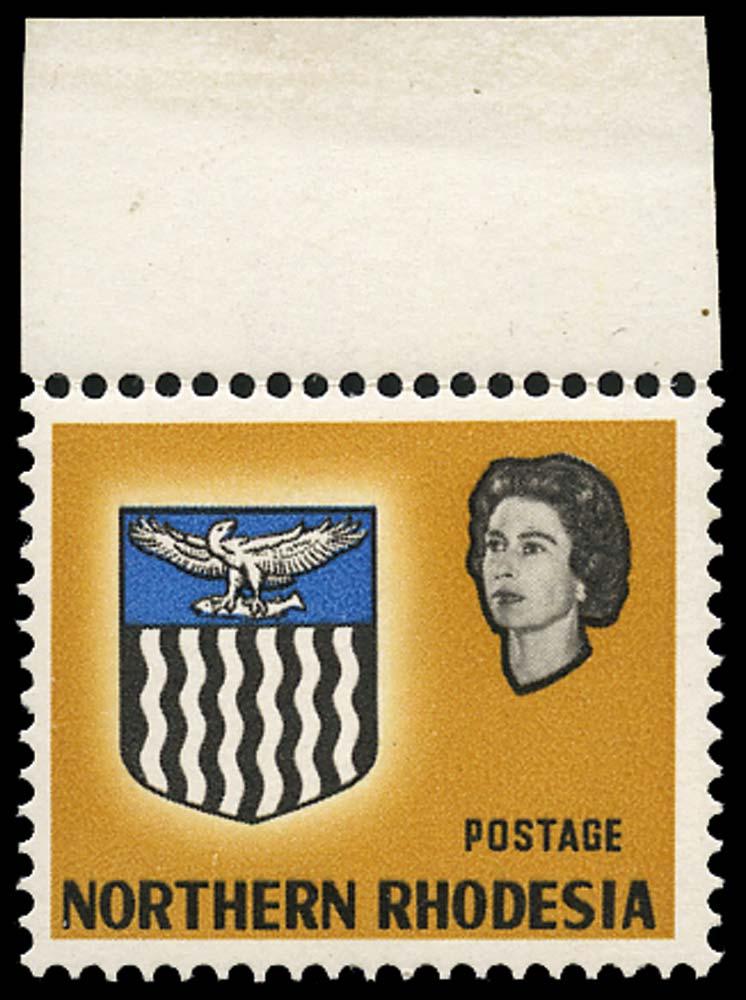 NORTHERN RHODESIA 1963  SG81b Mint