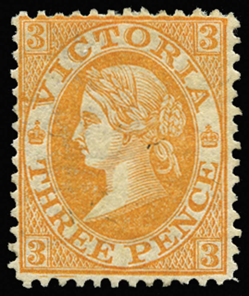 VICTORIA (AUS) 1863  SG134c Mint