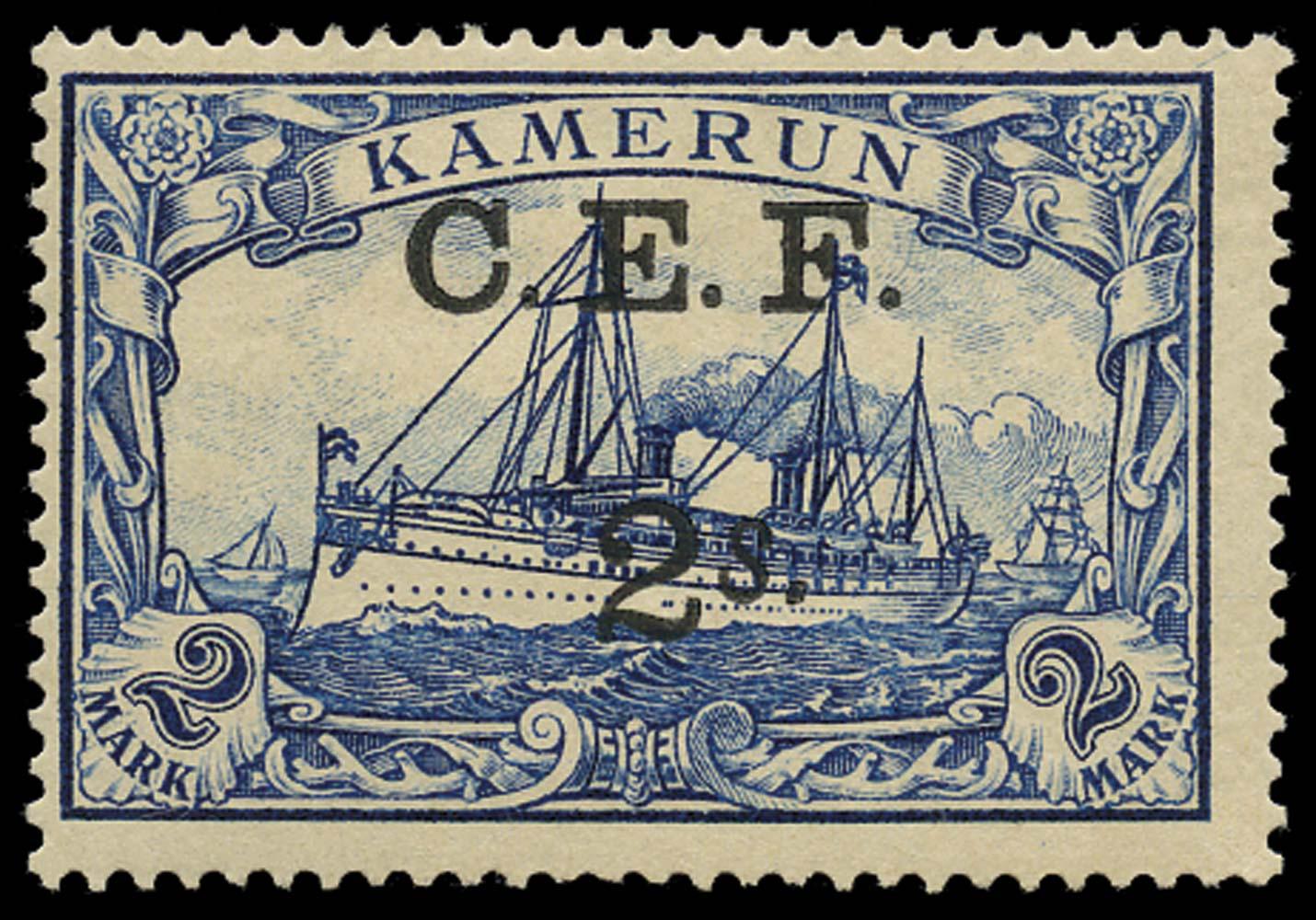 CAMEROON 1915  SGB11 Mint