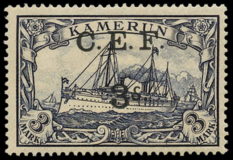 CAMEROON 1915  SGB12b Mint