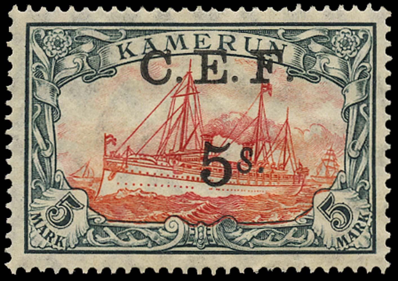 CAMEROON 1915  SGB13 Mint