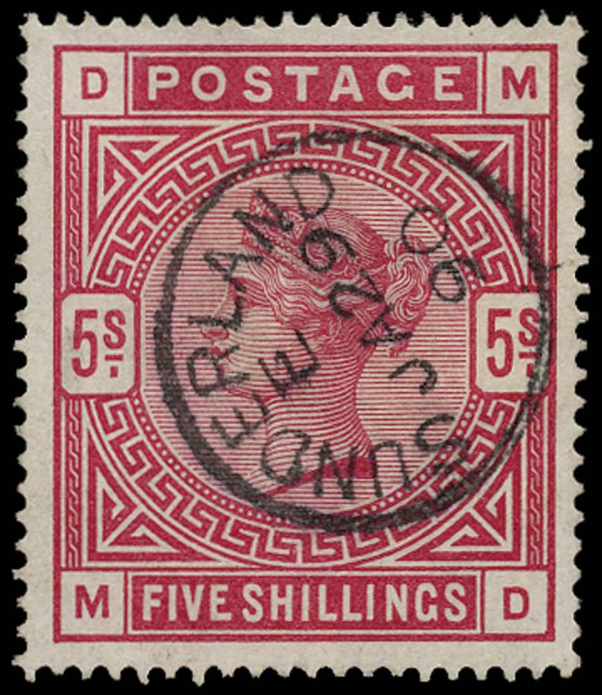 GB 1884  SG181 Used