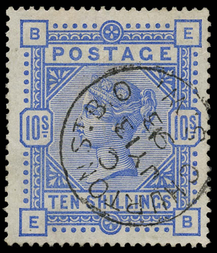 GB 1884  SG183 Used