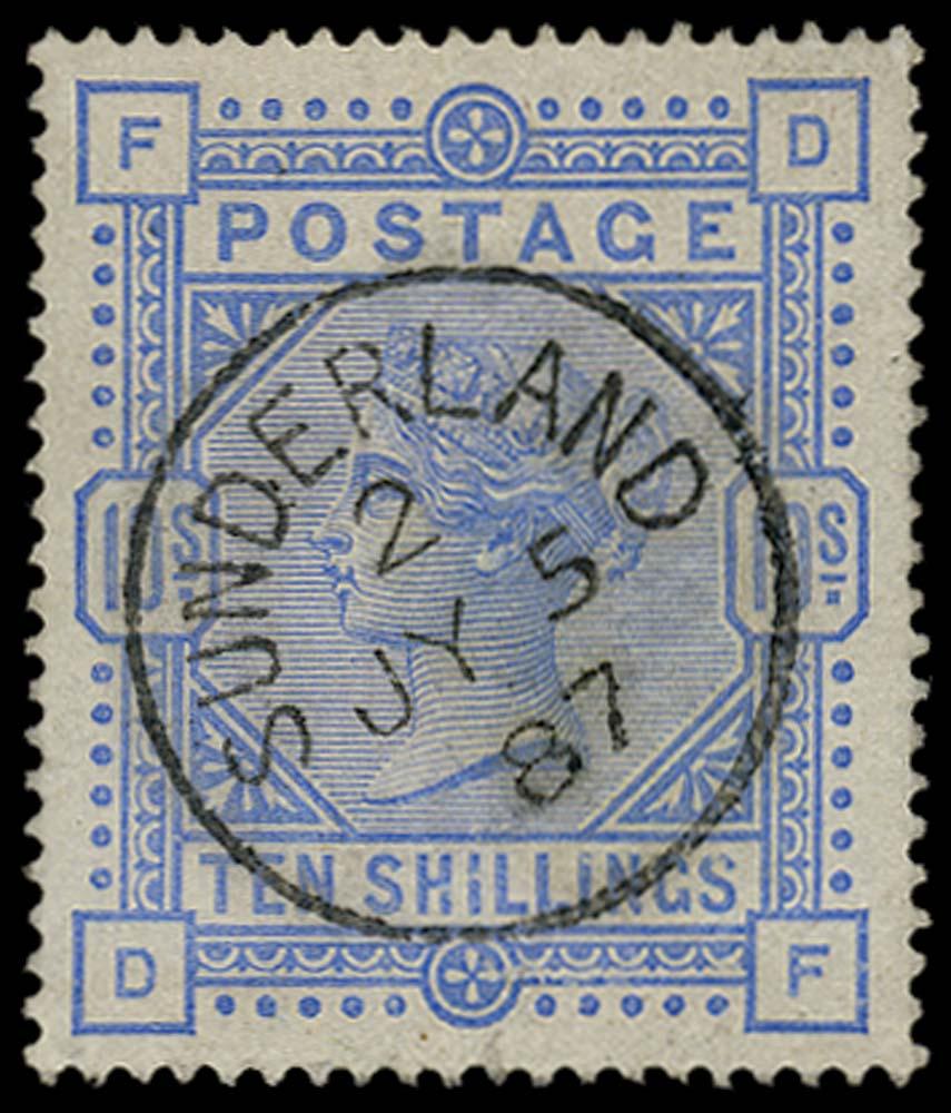 GB 1884  SG183a Used