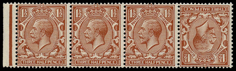 GB 1924  SG420a Mint