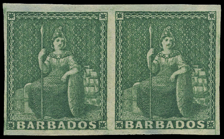 BARBADOS 1852  SG2 Mint