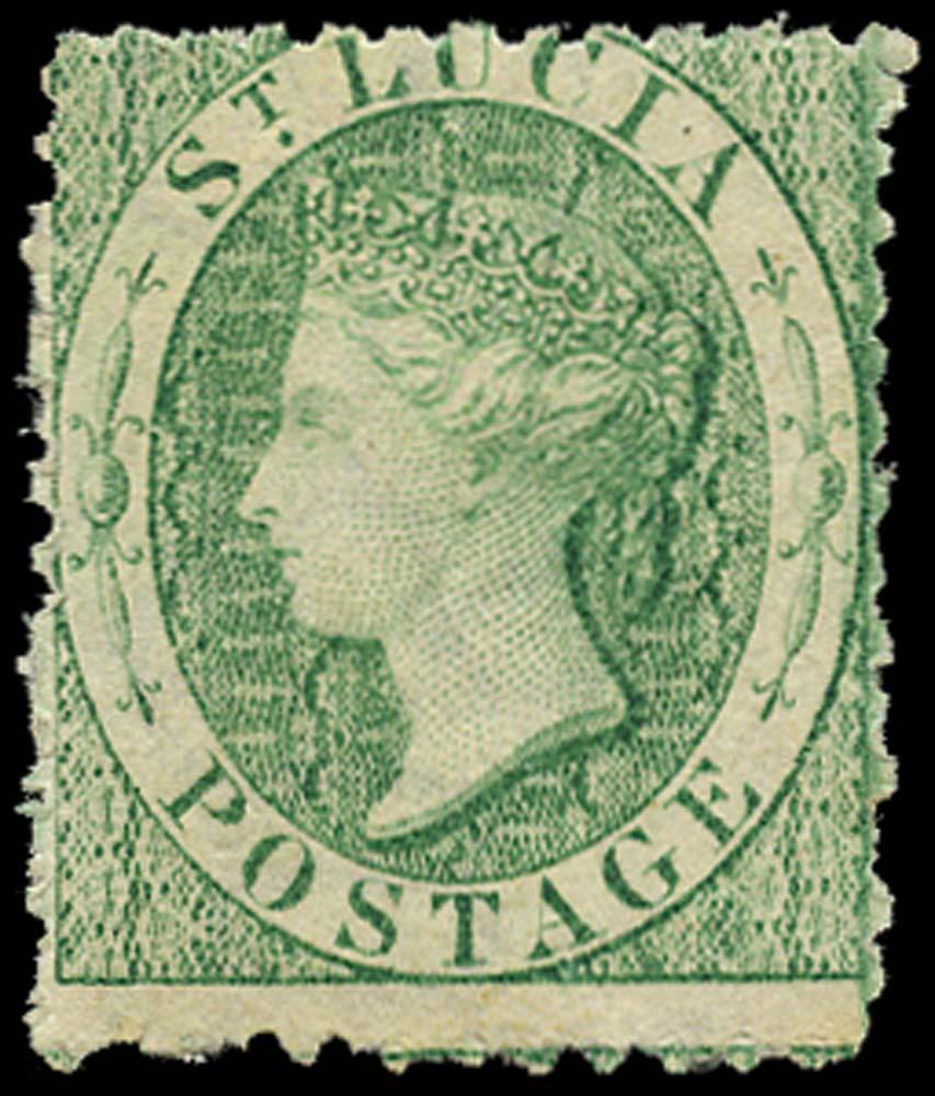 ST LUCIA 1863  SG8 Mint